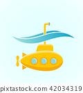 yellow,submarine,underwater 42034319