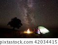 camping, tent, star 42034415