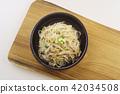 豆芽 小菜 朝鮮的 42034508