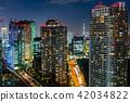 도쿄 도시 풍경 (시오도 메의 빌딩 군) 42034822