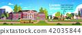 bus, yellow, school 42035844