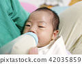 아기, 육아, 젖병 42035859
