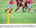 Boys' soccer game landscape 42036891