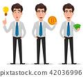 business man cartoon 42036996