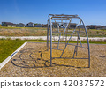 Climbing toy at local park 42037572