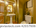 Colorful bathroom in a southern California home 42037606
