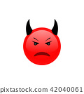 Angry face. Angry icon. Triste emotion. 42040061