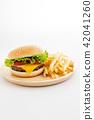 burger, baker, bread 42041260