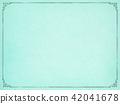 พื้นหลัง - กระดาษ - กระดาษใช้แล้ว - กรอบ - สีน้ำเงิน 42041678
