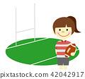 橄欖球 笑容 笑臉 42042917