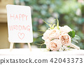 flower, marriage, wedding 42043373