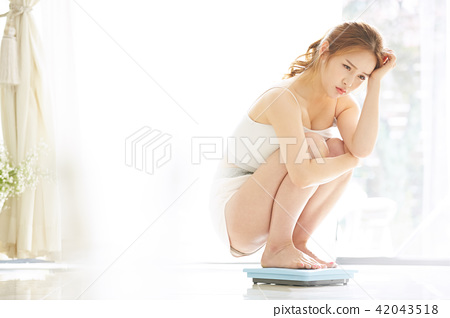여성 뷰티 이미지 다이어트 42043518