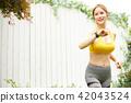 女子体育跑步 42043524