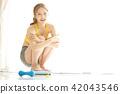 妇女美女形象饮食 42043546