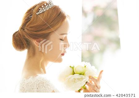 ภาพเจ้าสาวหญิง 42043571