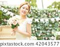 女性新娘形象 42043577