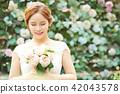 女性新娘形象 42043578