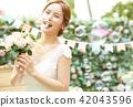 女性新娘形象 42043596