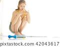 ผู้หญิงอาหารภาพความงาม 42043617