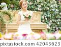 女性新娘形象 42043623