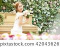 女性新娘形象 42043626