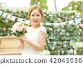 女性新娘形象 42043636