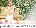 女性新娘形象 42043638