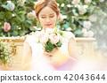 女性新娘形象 42043644