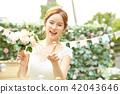 女性新娘形象 42043646