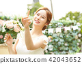 女性新娘形象 42043652