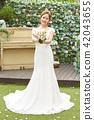 女性新娘形象 42043655