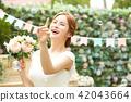 女性新娘形象 42043664