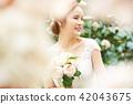 女性新娘形象 42043675