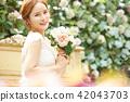 女性新娘形象 42043703