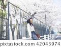 女子春遊 42043974