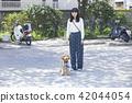 여성, 여자, 산책 42044054