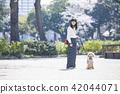여성, 여자, 산책 42044071