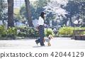 여성, 여자, 산책 42044129