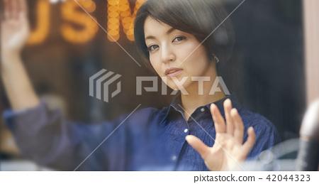포트레이트, 인물 사진, 여성 42044323
