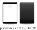 Tablet mockup. 42046191