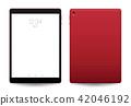 Tablet mockup. 42046192