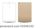 Tablet mockup. 42046193