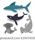 shark vector collection design 42047458