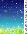 草地 草原 牧場 42049011