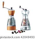 pepper, mill, peppercorn 42049493