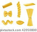 pasta macaroni realistic 42050800