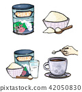 powder, milk, cartoon 42050830