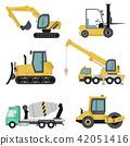construction machinery heavy 42051416