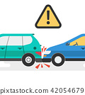 Two cars accident 42054679