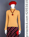 Fashionable womens winter clothes on mankein. 42055610